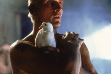 Fotograma de Blade Runner con Rutger Hauer como carátula de un capítulo de A Ciencia Cierta: Inteligencia artificial en la ciencia ficción