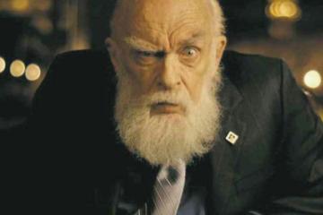 Fotografía de James Randi como carátula de un capítulo de A Ciencia Cierta: Ciencia paranormal
