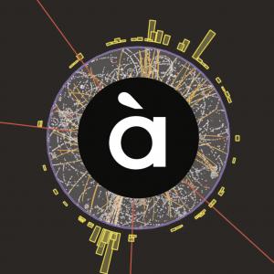 """Imágen del CERN del bosón de Higgs como carátula del episodio de Ciència en Vena: Los ladrillos de la materia. Una sección de """"Al Ras"""""""