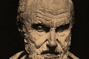 Busto de Hipócrates de Cos