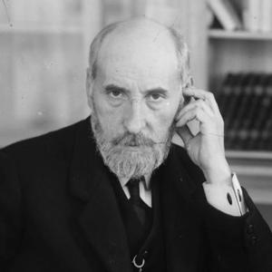Fotografía de Santiago Ramón y Cajal como carátula de un capítulo de A Ciencia Cierta: Santiago Ramón y Cajal