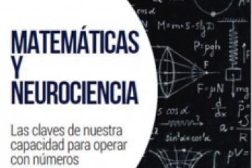 """Fragmento de la portada del libro: """"Matemáticas y neurociencia"""""""