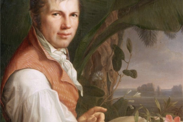Retrato de von Humboldt por Georg Weitsch, 1806