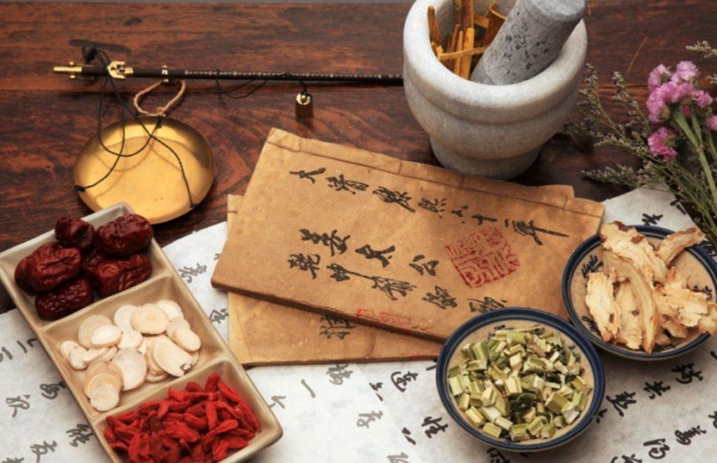 Algunos remedios de la medicina tradicional china.