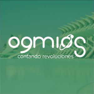 Logo de Ogmios sobre foto de la Ciudad de las Artes y las Ciencias como carátula del episodio de A Ciencia Cierta: La última entrada de Ogmios.