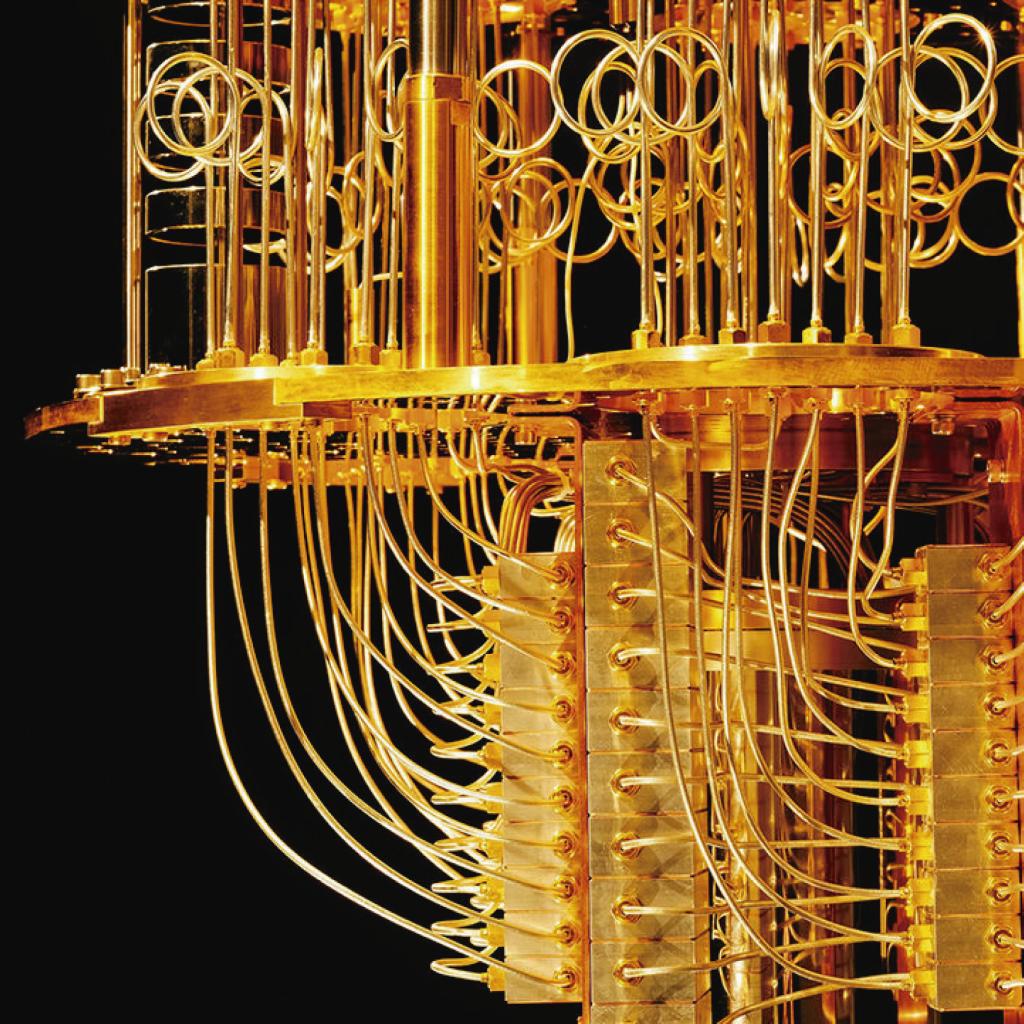 Detalle de un ordenador cuántico IBM Q como portada del episodio de A Ciencia Cierta: Ordenadores Cuánticos