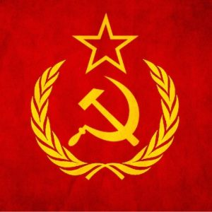 Símbolo de la Unión Soviética como carátula del episodio de A Ciencia Cierta: Ciencia Soviética