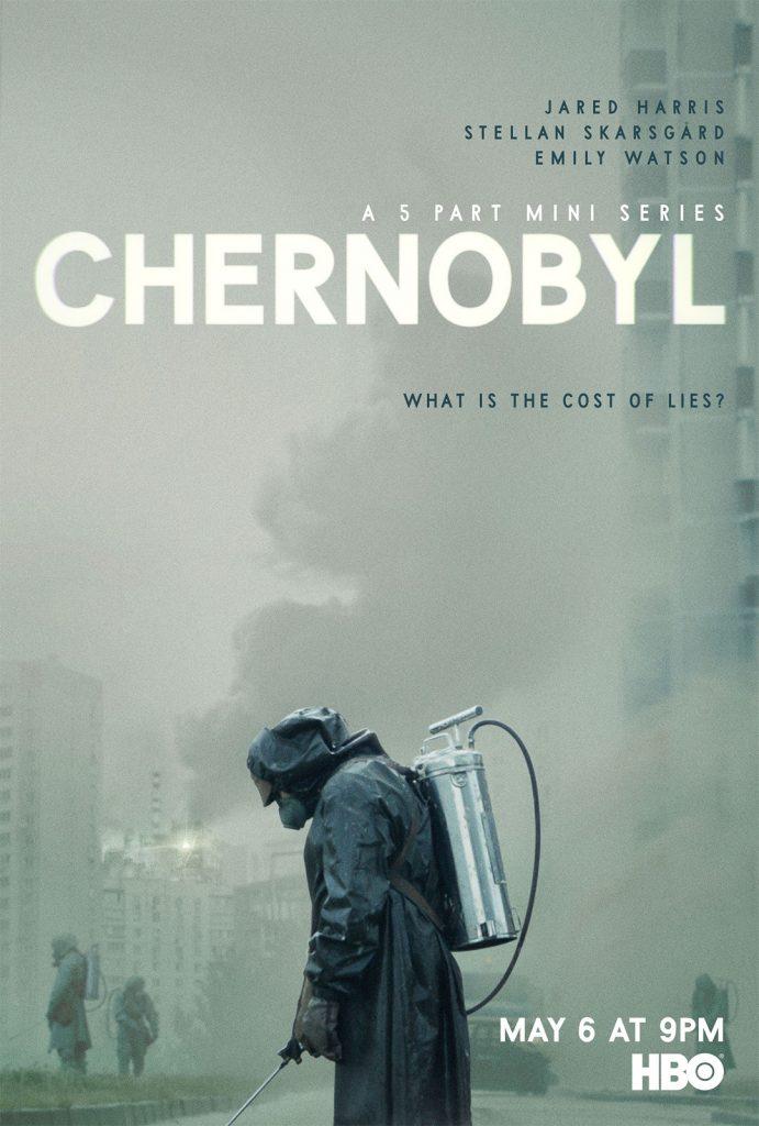 """Portada de la serie de HBO """"Chernobyl"""""""