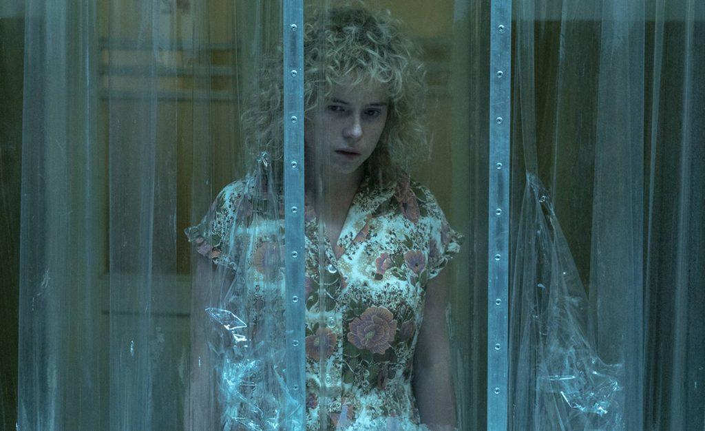 Jessie Buckley como Lyudmilla Ignatenko en la serie de HBO Chernobyl