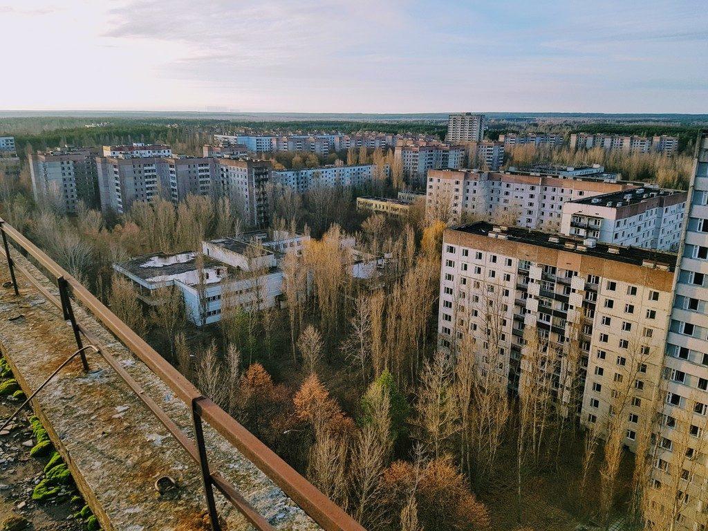 Fotografía de la ciudad fantasma de Prípiat