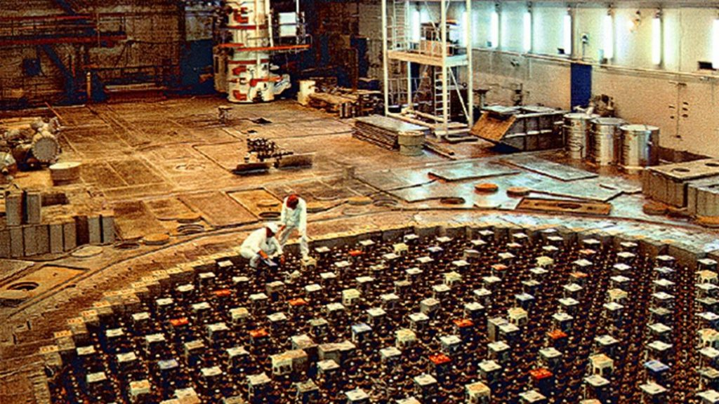 Reactor RBMK de la central hermana de Ignanlina, Lituania