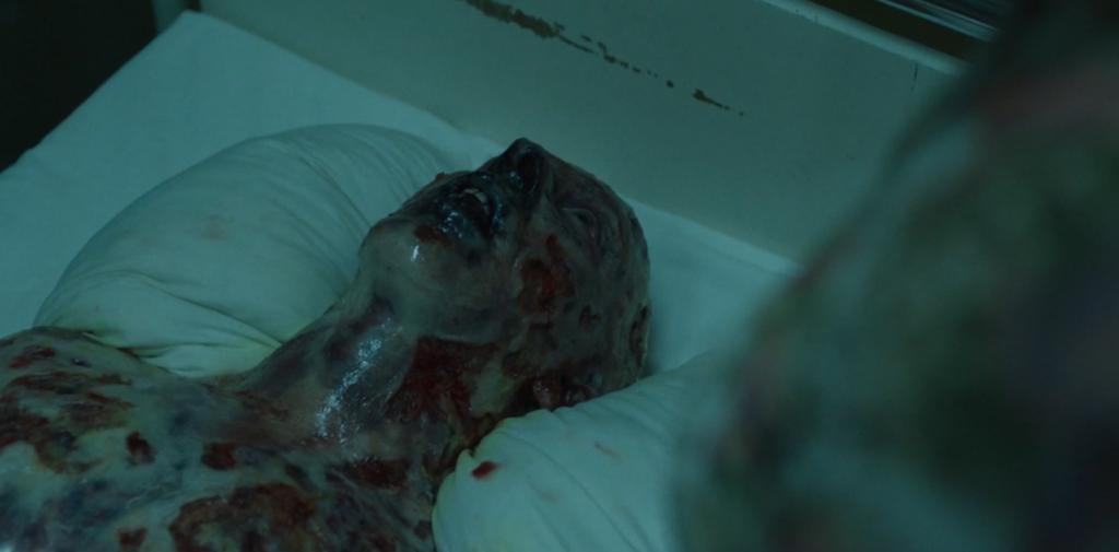 """Fotograma de la muerte de Vasily Ignatenko en la serie """"Chernobyl"""""""