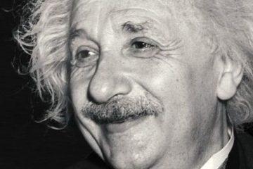 Fotografía de Albert Einstein como carátula del episodio de A Ciencia Cierta: Relatividad especial