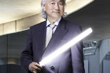 Michio Kaku como portada del vídeo de Date un Voltio: Kaku y la Ufología