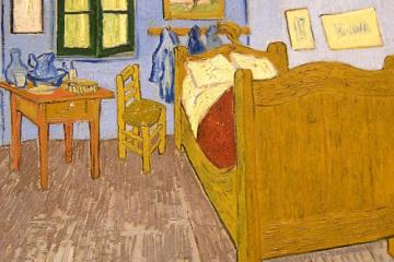 La habitación de Van Gogh en Arles (1889) como portada del programa de A Ciencia Cierta: ¿Cómo nos afecta el confinamiento?