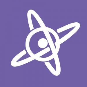 Logotipo de Scenio TV: El único canal de directos científicos donde los memes tienen el poder.