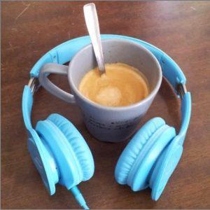 Logotipo del podcast: Coffee Break