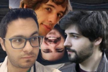 Ignacio Crespo, Ignacio Amyad, Daniel Orts y Pau Mateo en versión collage