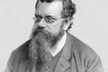 Retrato de Boltzmann como portada del episodio de A Ciencia Cierta: Boltzmann: El Hombre que comprendió la Entropía