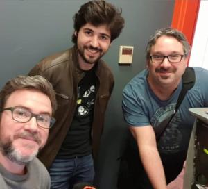 Colaborando con los amigos de Radio Esport Valencia en La Ciencia que Viene.