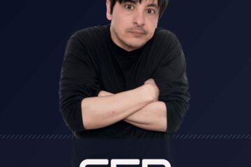 """Carátula del podcast """"Transmite la SER"""", presentado y dirigido por Juan Carlos Ortega."""